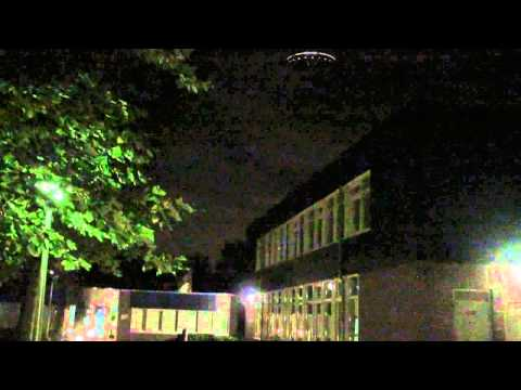 UFO spotted above a school