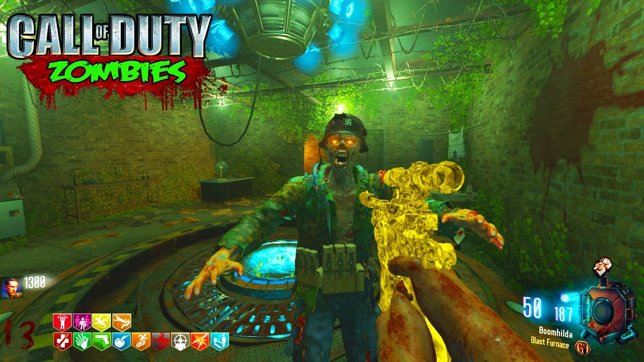 BLACK OPS 3 ZOMBIES - * NEW* BIGGEST CUSTOM EASTER EGG ZOMBIES MAP  GAMEPLAY! (BO3 Zombies)
