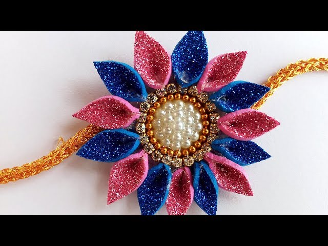 Easy Rakhi Designs : How to Make Rakhi at Home | Handmade Rakhi | Rakhi Designs for Competition