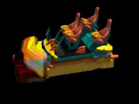 behemoth Seats - Canada's Wonderland - YouTube