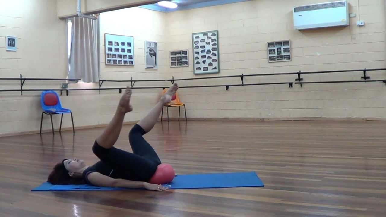 Упражнения с малым мячом 2 Exercises with small ball 2 ...
