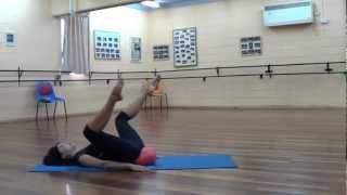 Упражнения с малым мячом   2 Exercises with small ball  2
