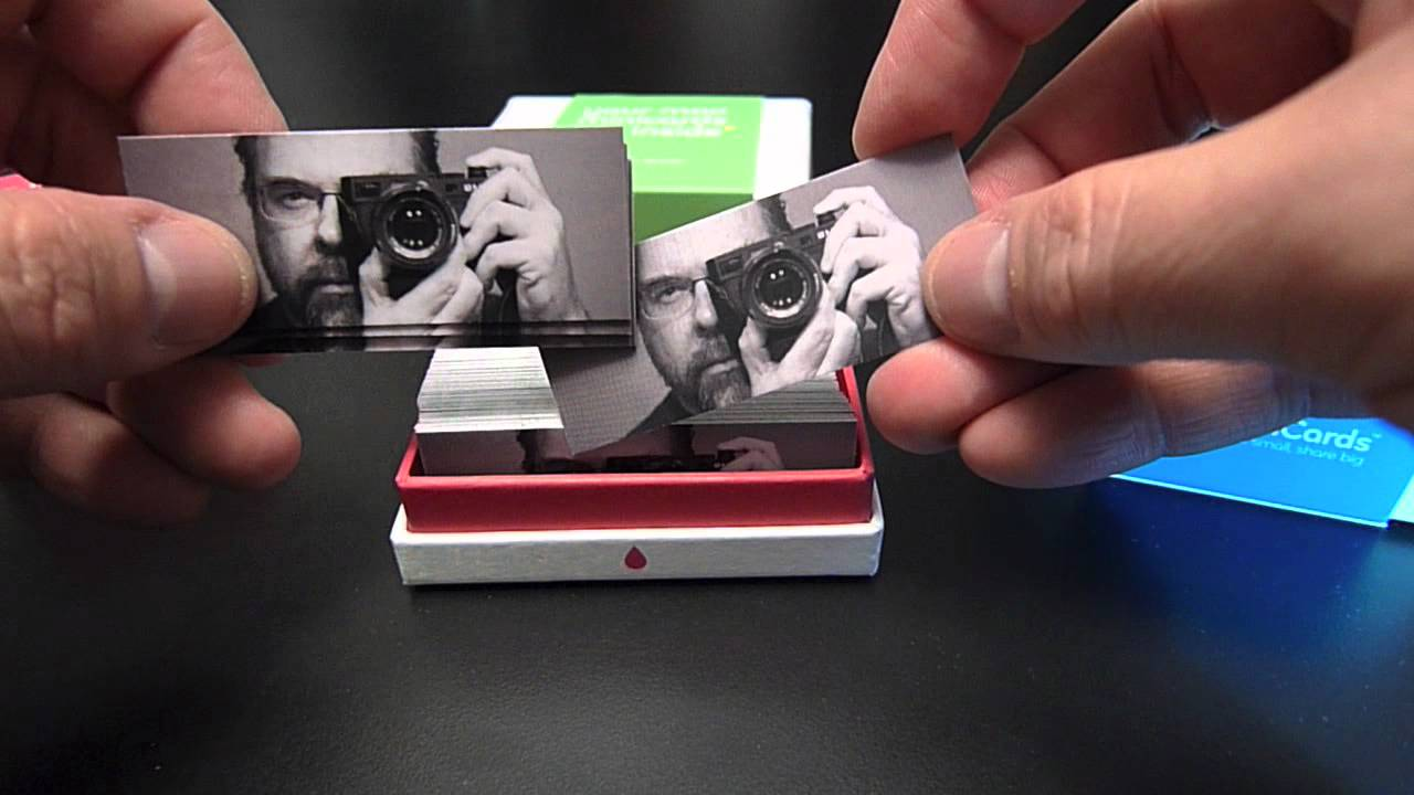 Moo Mini-Cards -- Good Stuff! - YouTube