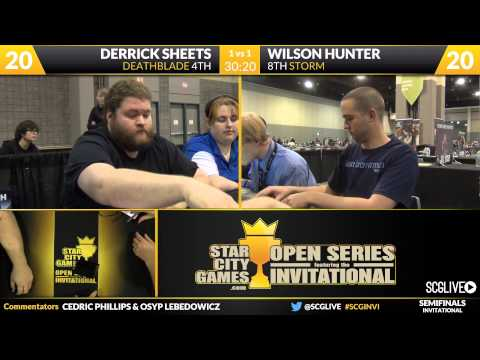 SCGINVI - Invitational - Semifinals - Wilson Hunter vs Derrick Sheets