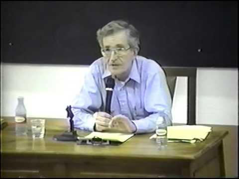 Noam Chomsky speaks about Cognitive Revolution - Part 6