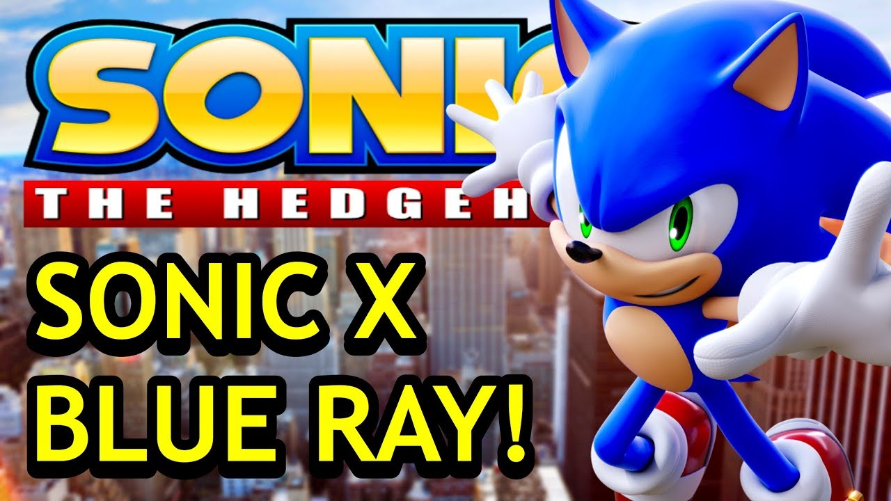Sonic X Coming To Blu Ray On May 28th 2019 Sonic Discussion Newsuperchris Youtube