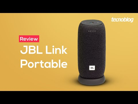 Smart Speaker JBL Link Portable - Review Tecnoblog