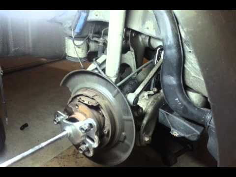How to change your BMW E39 530i rear wheel bearing part 1  YouTube