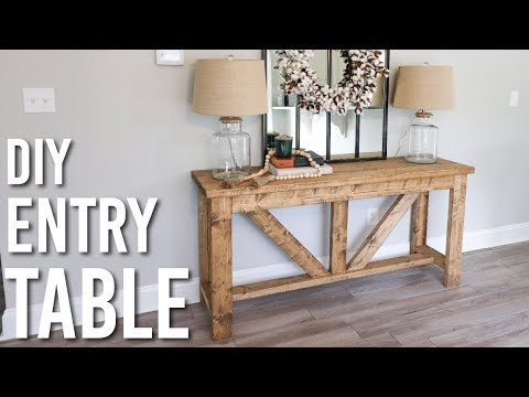 DIY Pallet Table!