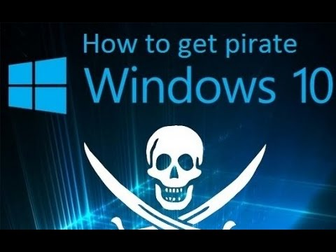 How to get pirate Windows 10 for free (torrent)
