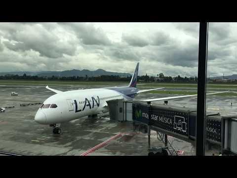 HARD LANDING! | Bogota to Miami | Boeing 787 | Latam airlines Full Flight