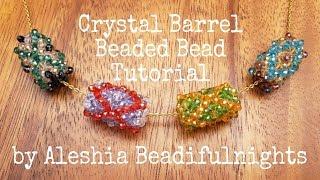 Crystal Barrel Beaded Bead Tutorial