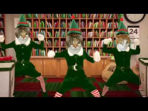 SANTA'S DANCING CATS!