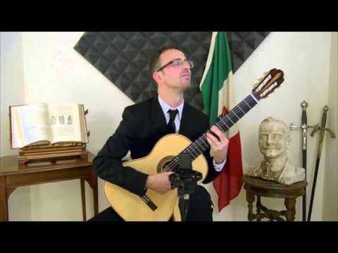 The Godfather (Classical Guitar Arrangement by Giuseppe Torrisi - Performed by Michelangelo Tozzi)