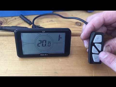 magnum bikes das kit c7 display settings tutorial youtube. Black Bedroom Furniture Sets. Home Design Ideas