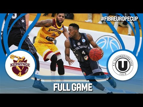 Keravnos (CYP) v U-BT Cluj Napoca (ROU) - Full Game - FIBA Europe Cup 2017-18