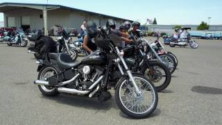 Truckin' For Hospice Motorcycle Poker Run 2017: Hospice of San Joaquin [4k]
