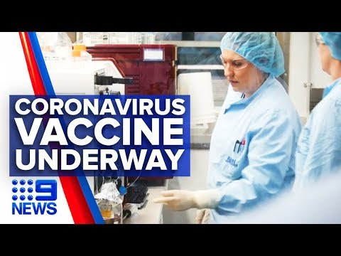 Australian Scientists Working On Coronavirus Vaccine | Nine News Australia