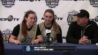 Post game press conference - girls bay area vs sacramento all-stars