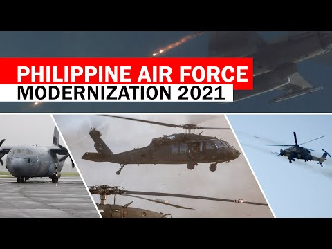 Philippine Air Force Modernization 2021 All Aircraft Assets Listed