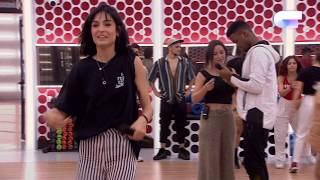 Ensayo de NATALIA y FAMOUS con los BAILARINES (FEEL IT STILL) | OT 2018