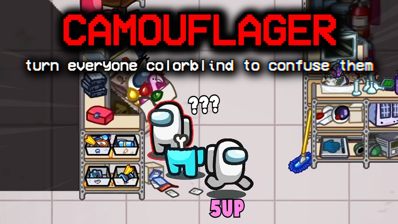 *NEW* impostor role colorblinds everyone to make INSANE plays... (submerged)