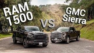 RAM 1500 VS GMC Sierra - lucha de peso mediano | Autocosmos Video