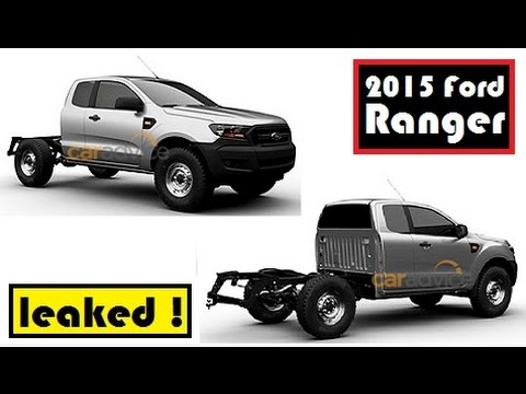 2015 ford ranger patent images leaked for single cab super cab and double cab