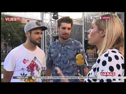 2CELLOS - Zagreb soundcheck interview