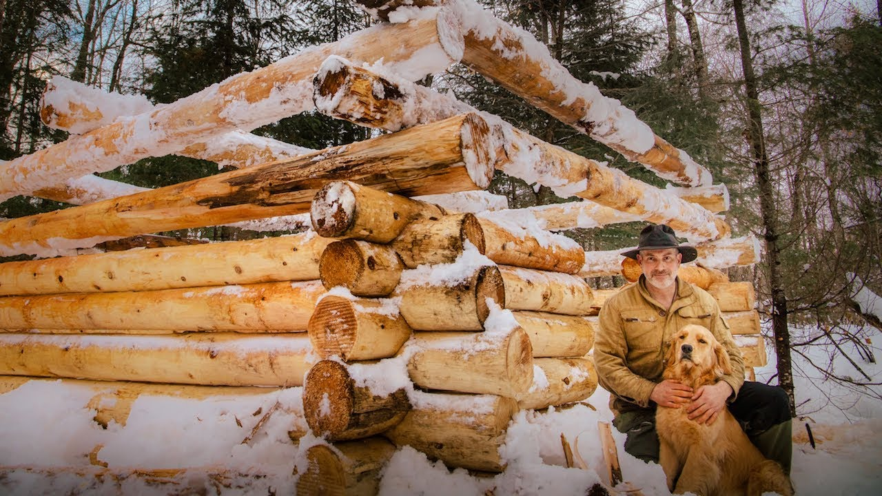 building-a-sauna-with-frozen-logs-vanishing-way-of-life-subscriber-mail