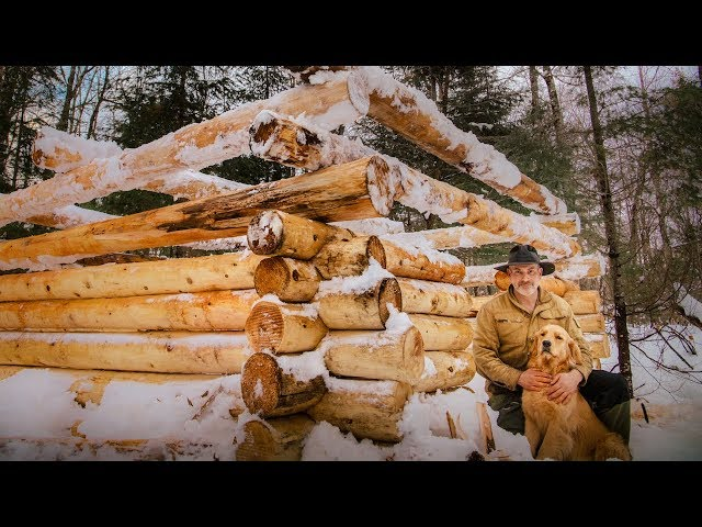 Building a Sauna with Frozen Logs | Vanishing Way of Life | Subscriber Mail