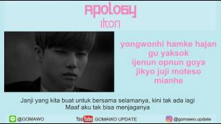LIRIK IKON - APOLOGY [MV & EASY LYRIC ROM+INDO]