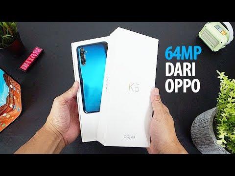 OPPO K5 telah dibekali banyak fitur menarik seperti dukunganan Chipset SoC Snapdragon 730G yang sebe.
