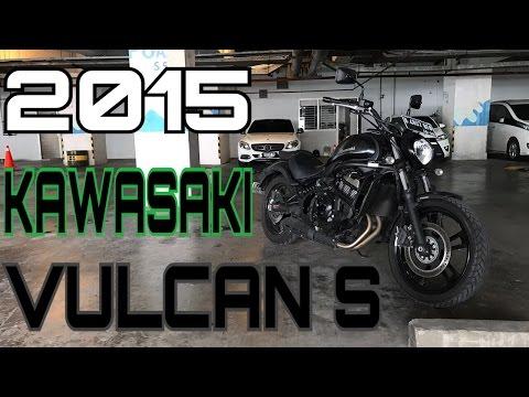 Test Ride 2015 Kawasaki Vulcan S