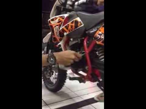 Minimoto GAZGAS 50cc 2tak matic by KM99TRAILSHOP