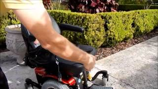 Jazzy 614 HD Power Chair by Pride Mobility