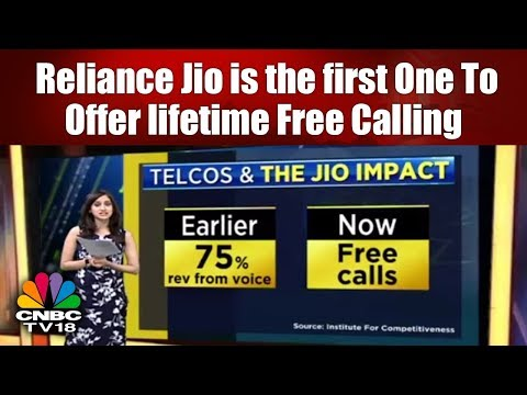 TELCOS & The JIO Impact | Reliance Jio is the first one to offer lifetime free calling | CNBC TV18