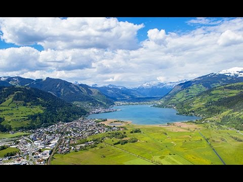 Summer in Zell am See-Kaprun from above [4K]