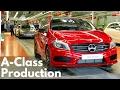Mercedes A-Class Production