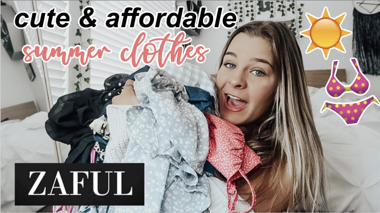 cute & affordable summer clothes {try-on haul ft. ZAFUL}