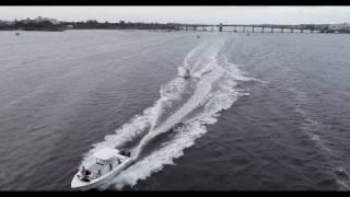 DJI Phantom 4 Pro - Rush Hour on the Water Lake Worth FL (4K/60 fps)