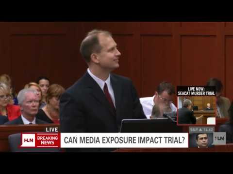 Can media exposure impact the Zimmerman trial?