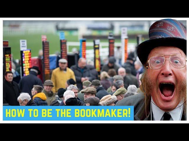 How to be a bookie and always win at betting