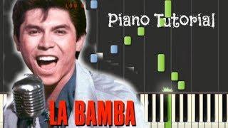 La Bamba [Los Lobos] - Piano Tutorial [Synthesia] - HD 720p