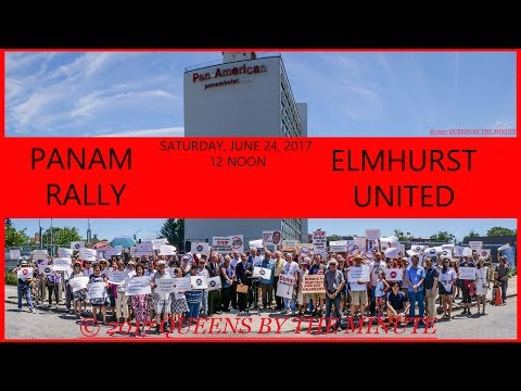 PAN AM RALLY by ELMHURST UNITED