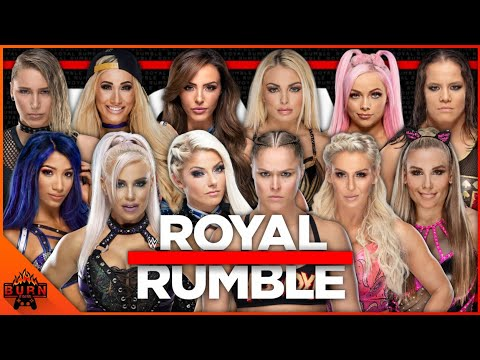 WWE 2K20 30 WOMEN'S ROYAL RUMBLE MATCH