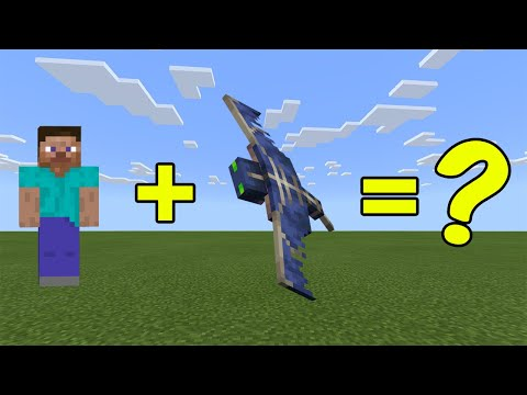 I Combined Steve And A Phantom In Minecraft - Here's WHAT Happened...