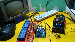 Video Cara Membuat Alat Pengendali Perangkat Elektronik Menggunankan Remote TV Dengan Arduino | SmartHome download MP3, 3GP, MP4, WEBM, AVI, FLV April 2018