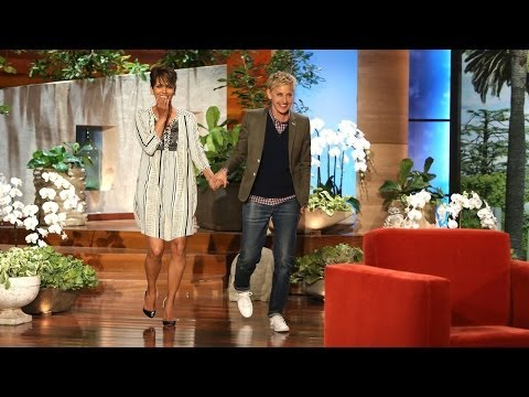 Halle Berry Faces Her Fears