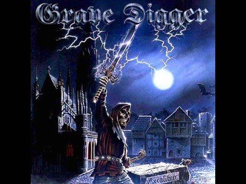 Grave Digger - Excalibur - German Heavy Metal